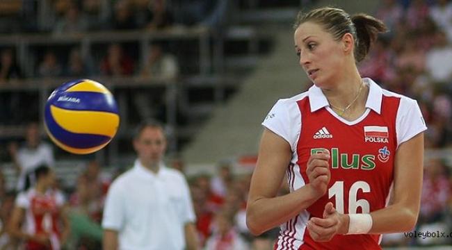 Aleksandra Jagielo kariyerinin son maçını oynadı!