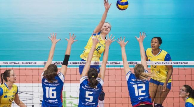 Almanya finalinde ilk maçı Schwerin, zorda olsa 3-2 kazandı
