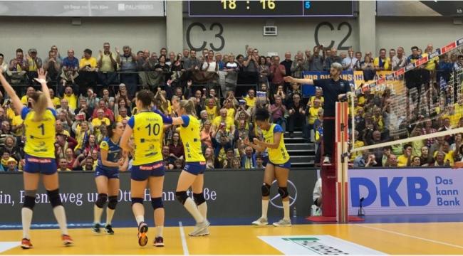 Almanya finalinde Schwerin 2-0 öne geçti
