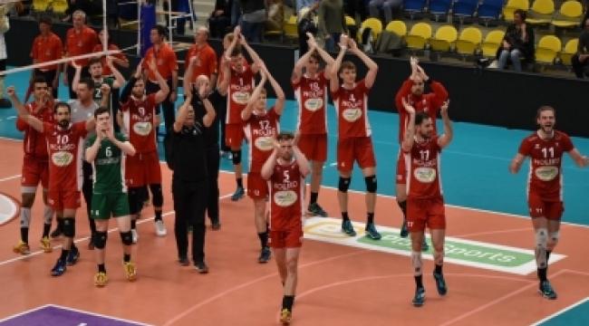 Belçika final serisinin 2. maçını, Noliko Maaseik 3-2 kazandı
