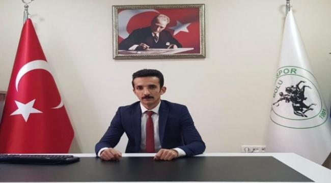 Bolu Belediyespor'da başkan Alemdar güven tazeledi