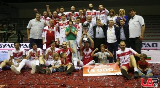 Bulgaristan şampiyonu Neftokhimik!..