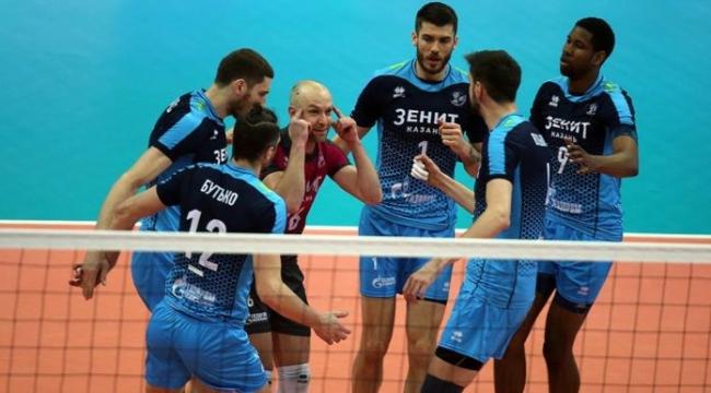 Final serisinde 2. maçı da Zenit Kazan kazandı