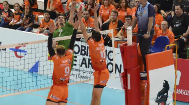 İspanya finalinde ilk maçı CV Teruel 3-0 kazandı
