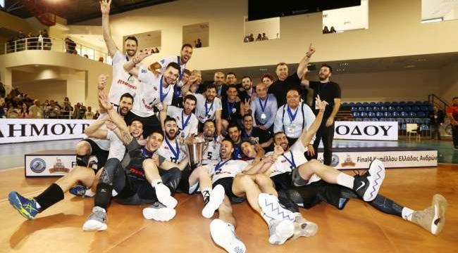 PAOK, Yunanistan Kupası'nın sahibi...