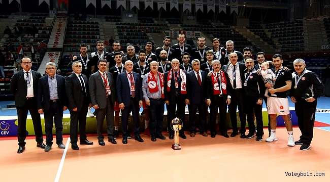 Ziraat, CEV Kupası'nda şampiyonluğu kaçırdı