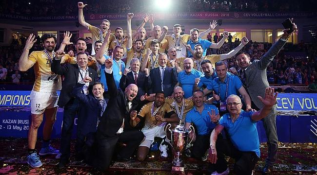 CEV Şampiyonlar Ligi Finali'nde şampiyon Zenit Kazan!