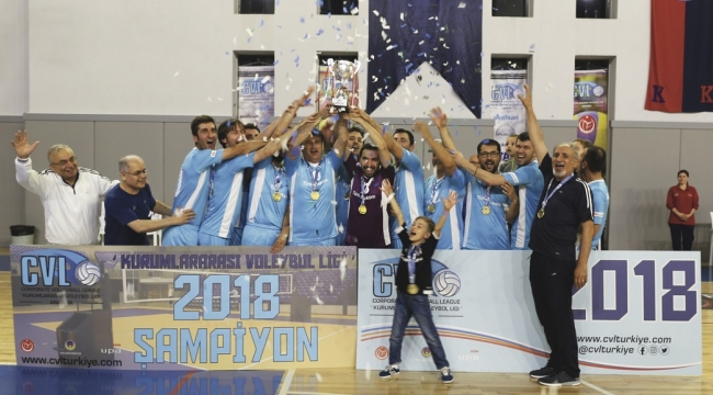 CVL Ankara 2018 Ligi'nde Şampiyon Türk Telekom