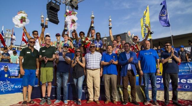 FIVB Plaj Voleybolu Dünya Turu 1 Yıldızlı Aydın Etabı Sona Erdi