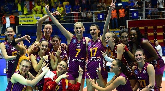 Galatasaray Avrupa dördüncüsü oldu