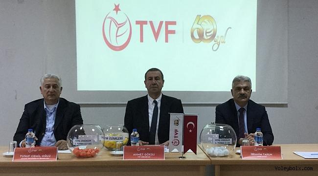 Genç Erkekler Türkiye Şampiyonası'nın Teknik Toplantı ve Kura Çekimi Yapıldı