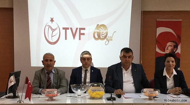 Genç Kızlar Türkiye Şampiyonası'nın Teknik Toplantısı ve Kura Çekimi Yapıldı