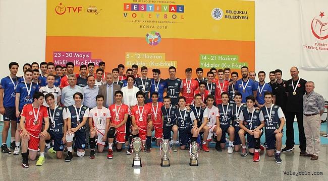 2018 Küçükler Kategorisi Altyapı Türkiye Şampiyonası Sona Erdi