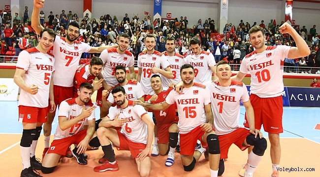A Erkek Milli Takımımız, Altın Avrupa Ligi'nde Final Four'a Kaldı