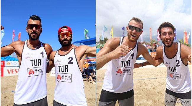 Akdeniz Oyunları Plajları'nda 1 Altın, 1 Bronz Madalya !
