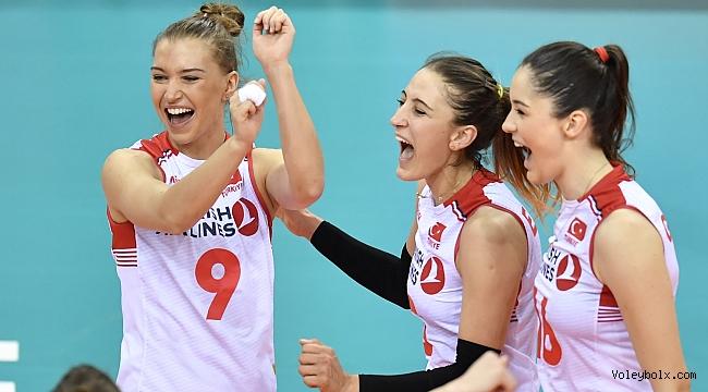 Almanya'yı 3-1 yenen Filenin Sultanları, Milletler Ligi'nde 6'lı finallerde !