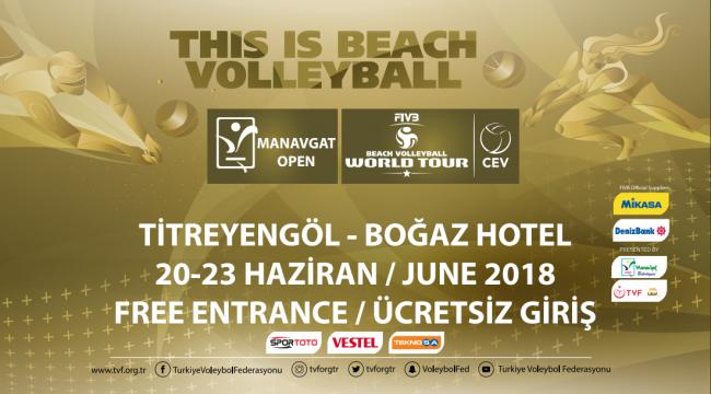 FIVB Plaj Voleybolu 1 Yıldızlı Manavgat Etabı, 20 Haziran'da Başlıyor