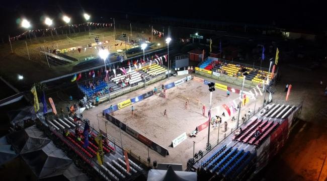 FIVB Plaj Voleybolu Dünya Turu Manavgat Etabı'nda Ana Tablo Karşılaşmaları Başladı