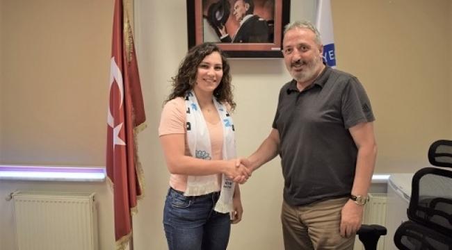 Aylin Sarıoğlu Nilüfer Belediyespor'da