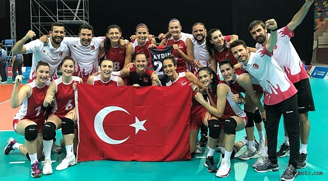 Bayanlar'dan 18. Akdeniz Oyunları'nda Bronz Madalya !