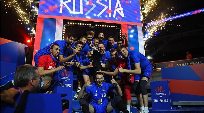 Milletler Ligi'nde Şampiyon Rusya!..