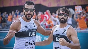Millilerimiz, 2018 CEV Avrupa Plaj Voleybolu Şampiyonası'nda Bir Üst Turda !