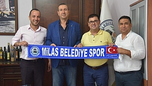 TVF Asbaşkanı Göksu, Milas Bld. Başkanı Tokat'ı Ziyaret Etti