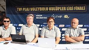 TVF Plaj Voleybolu Kulüpler Ligi Finalleri'nin Teknik Toplantısı Yapıldı