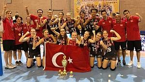 U16 Bayan Milli Takımımız, Namağlup Balkan Şampiyonu!