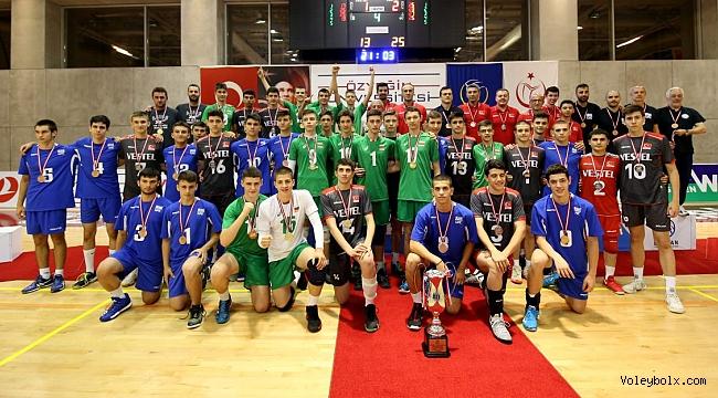 U17 Erkekler Balkan Şampiyonası Sona Erdi