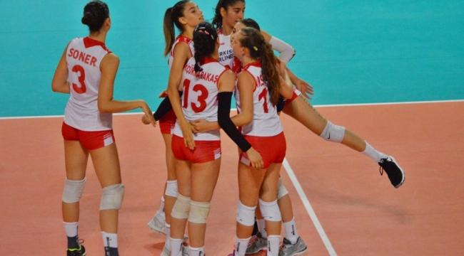U17'ler Makedonya'yı 3-0 Mağlup Etti