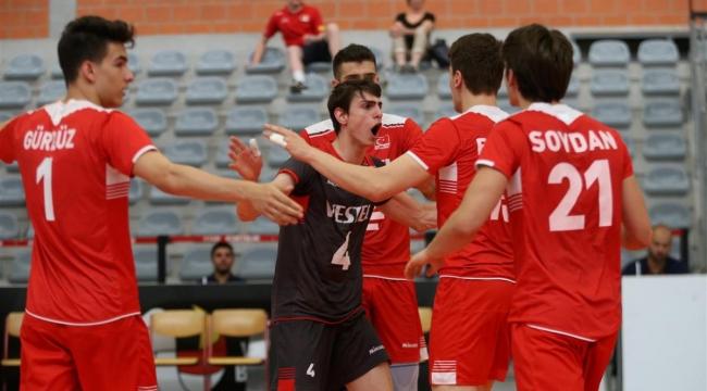 U20 Erkek Milli Takımımız, Avrupa Şampiyonası'na veda etti!
