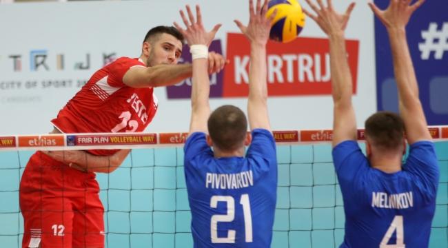 U20'ler Avrupa Şampiyonası'nda Rusya'ya 3-1 Mağlup Oldu