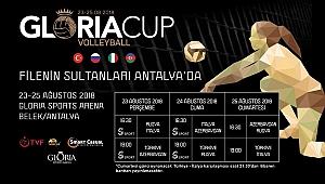 A Bayan Milli Takımımız, Gloria Cup Volleyball'da Sahne Alacak