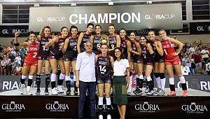 Filenin Sultanları, Gloria Cup Volleyball'da Namağlup Şampiyon !