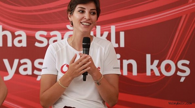 Neslihan Demir Güler, Vodafone Sağlıklı Yaşam Kampı'na katıldı