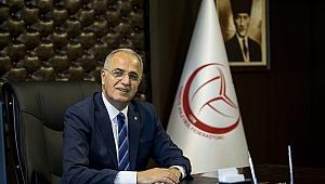 TVF Başkanı Mehmet Akif Üstündağ'dan Bayram Kutlaması