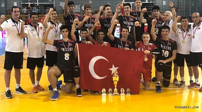 U18 Erkek Milli Takımımız, Namağlup Balkan Şampiyonu!