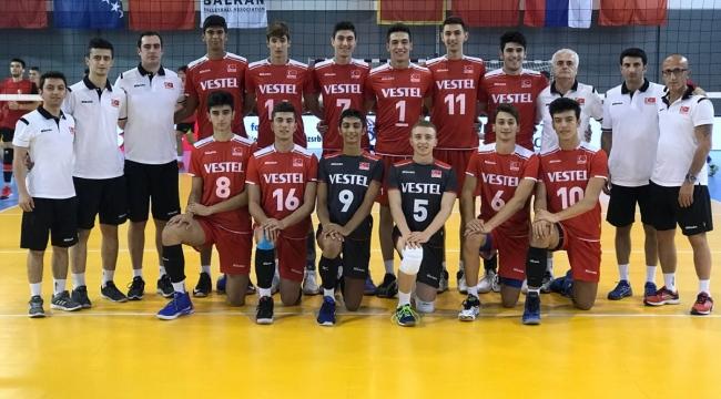 U18'ler, Balkan Şampiyonası'nda Namağlup Finalde !