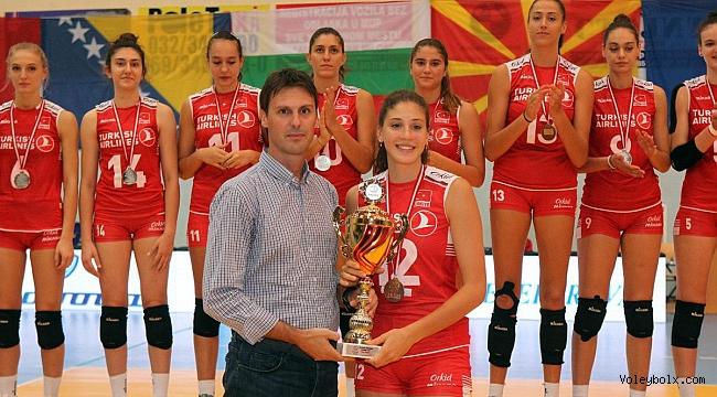 U19 Bayan Milli Takımımız, Balkan İkincisi Oldu