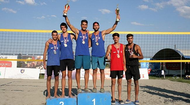 Yusuf ve Mustafa İkilisi, U20 Balkan Plaj Voleybolu Şampiyonu!