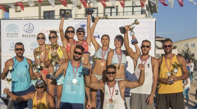 2018 BVA Balkan Beach Tour Nilüfer Etabı Sona Erdi