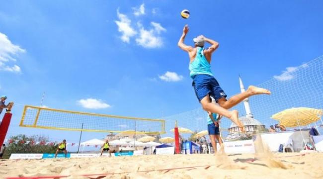 Balkan Beach Tour Nilüfer Etabı ilk tur karşılaşmaları yapıldı
