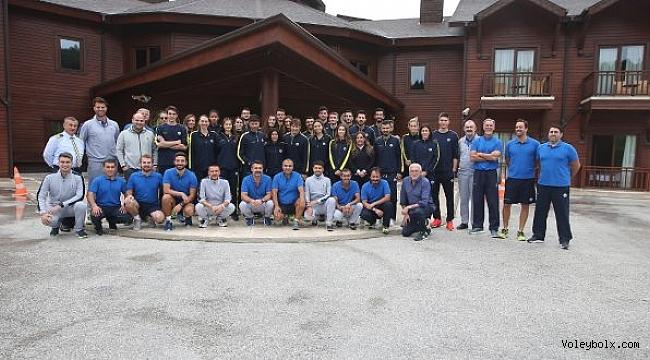 Fenerbahçe Voleybol Şubesi Topuk Yaylası'nda bir araya geldi