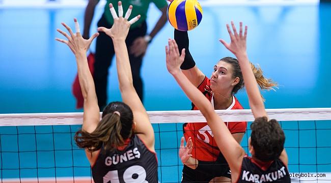 Filenin Sultanları, Montreux Volley Masters'da Namağlup Yarı Finalde