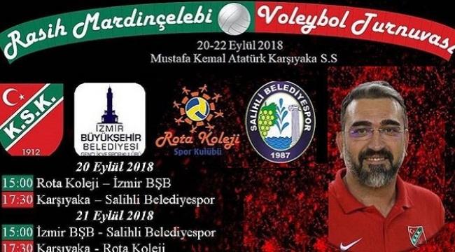 Karşıyaka'dan Mardinçelebi anısına turnuva