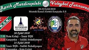 Rasih Mardinçelebi Voleybol Turnuvası'nda ikinci gün tamamlandı