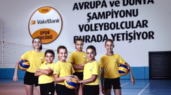 VakıfBank'tan 3 yeni voleybol okulu