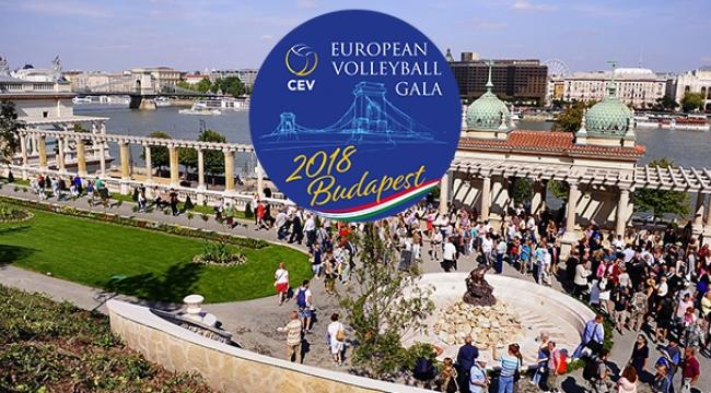 2018 CEV Avrupa Voleybol Galası, 2 Kasım'da Budapeşte'de Yapılacak
