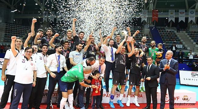2018 Spor Toto Şampiyonlar Kupası'nda Kupa ve Madalyalar Sahiplerini Buldu